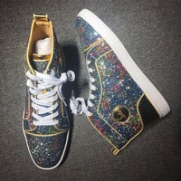 DCCK2 Cl Christian Louboutin Style #2116 Sneakers Fashion Shoes