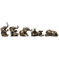 Design Toscano The Five Playful Pachyderms Figurines & Reviews | Wayfair