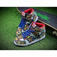 Concepts x Nike SB Dunk High Ugly Sweater Shoes 881758-446