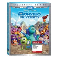 Monsters University - 3-DISC COMBO PACK (Blu-ray+Blu-ray Bonus+DVD)-Only at Target