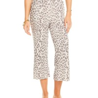Paperbag Waist Cropped Lounge Pants