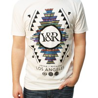 Young & Reckless Men's Folk Custom Graphic T-Shirt