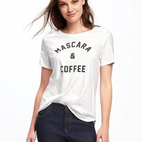 Relaxed Graphic Crew-Neck Tee for Women | Old Navy
