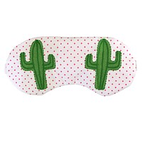 CACTUS EYES SLEEPING EYE MASK