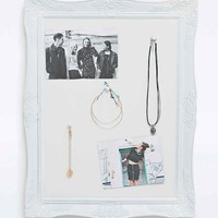 Frame Pin Board in White - Urban Outfitters