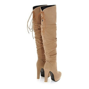 Over Knee High Boots for Women = 1931477892