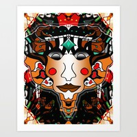 Pharaoh King Creative Art Print by Gift Of Signs