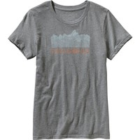 Patagonia Linear Fractures T-Shirt - Short-Sleeve - Women's