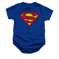 Superman Classic Logo Infant Onesuit