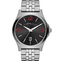 Marc by Marc Jacobs Men's Danny Stainless Steel 3-Hand Watch - Black