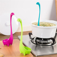 Nessie Mixing Spoon / Loch Ness Sea Serpent Dinosaur Dino Shaped Ladle Spoon / Kids Small Colorful Soup Utensil Spoon / Baking Kitchen Tool