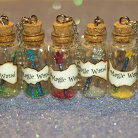 Choose Your Own Magical Color Wand Necklace Disney Fairy Godmother