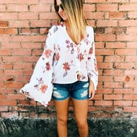 Festival Nights Blouse - Ivory