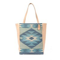 MZ Diamond Skies Fair Trade Leather Market Tote