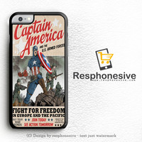 Captain America Logo The Avengers iPhone 6 Case