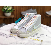 Morechoice Tuia Nike Blazer Mid The New Way Casual Women Men Flat Shoes Leather Suede Sneaker Dc5203 100