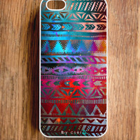 Galaxy Helix iPhone 5 Case, Geometric iPhone 4 & 4S Case - Tribal iPhone Case