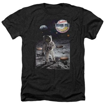 Moon Pie The Truth Heathered Mens T-Shirt