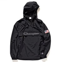Champion Woman Men Fashion Jacket Coat Windbreaker