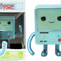 Adventure Time BMO Metallic Pop Vinyl Figure