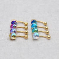 sale-Mermaid belly button rings belly ring stunning navel ring,Mermaid belly button jewelry