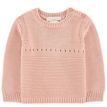 Stella McCartney Baby Girls Cashmere/Cotton Bunny Sweater