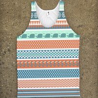 Chevron Patterns with Elephants and Anchors