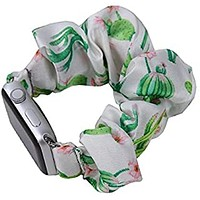 Cactus Scrunchie Watch Band for Apple Watch