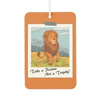 Take a Picture, Not a Trophy! Car Air Freshener