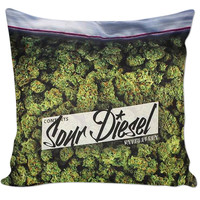 Baggie Of Weed Pillow