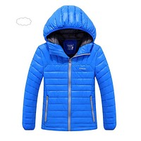 2018 Children Outerwear Winter Boys Thick Down Jacket 2018 New Winter Child Long Warm Coat Boys Hooded Down Outerwear