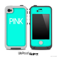 iPhone 5c lifeproof skin pink