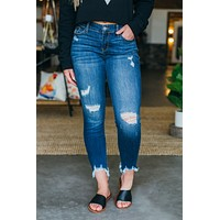 Judy Blue Darla Distressed Skinnies