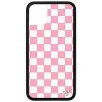 Checkers iPhone 11 Case | Pink