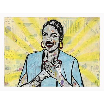 """""""AOC"""" Limited Edition Giclee Print 18x24 edition of 20"""