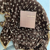 Louis Vuitton LV Monogram Warm Flannel Blanket