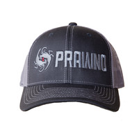 Prawno Large Logo Hat - Charcoal, Royal, Kelp, Pink & Black