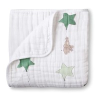 Aden + Anais Dream Blanket - Up And Away - Elephant