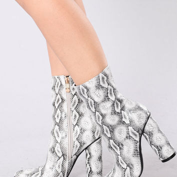 Midnight Lover Boot - Snake