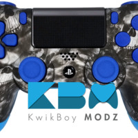 The Blue Reaper Dualshock 4 PS4 Controller