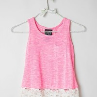 Girls - Miss Chievous Pointelle Tank Top