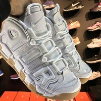 ONETOW Jacklish Nike Air More Uptempo White-gum For Sale