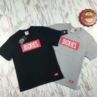 """""""DICKIES"""" Print Casual Short Sleeve Shirt Top Tee Blouse G-A-XYCL"""