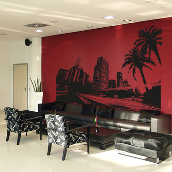 Vinyl Wall Decal Sticker City of Los Angeles #OS_AA902