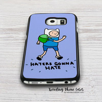 Haters Gonna Hate Finn Word Art Samsung Galaxy S6 Case Cover for S6 Edge S5 S4 Case