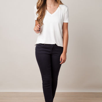 Time Out Navy Jeggings