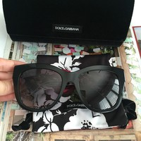 Dolce & Gabbana Sunglasses 100% Authentic 4267-299913-805 Black Women NEW495