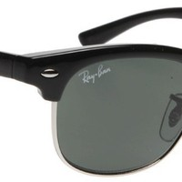 Ray Ban Junior 9050s Black Frame/Grey Lens Metal/Plastic Sunglasses
