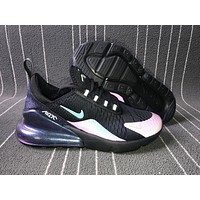Nike Air Max 270 men and women The air cushion shoes Chameleon