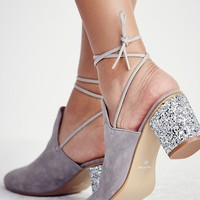 Free People Sparkler Wrap Mule